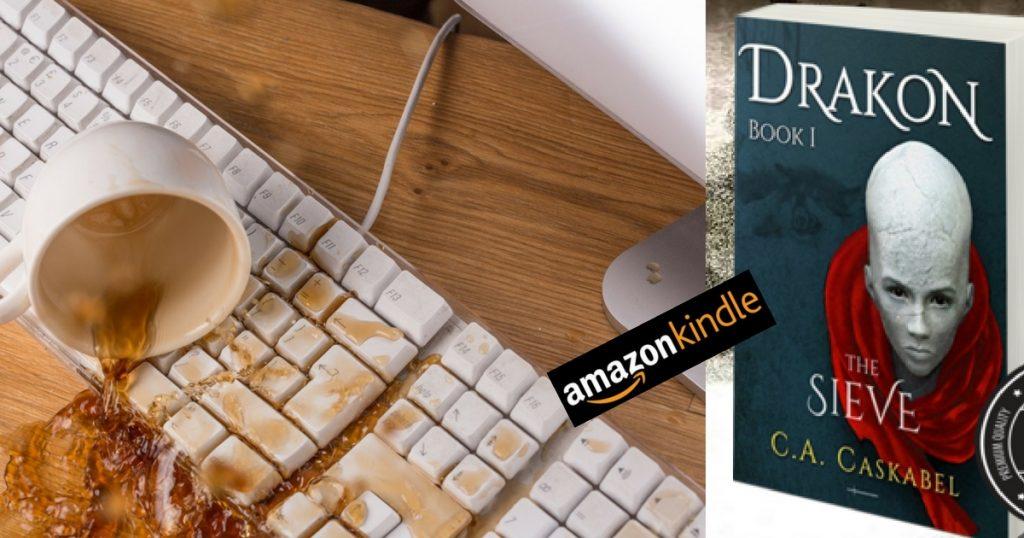 drakon, the sieve, caskabel, drakonbook, amazon, brexit, author,