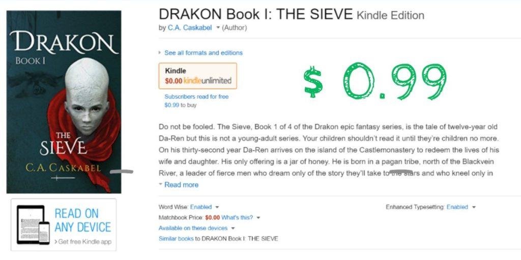 Drakon in Amazon